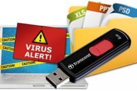 Cách hiện file bị vius làm ẩn trên USB