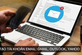 Hướng dẫn tạo và xóa địa chỉ email trong Outlook