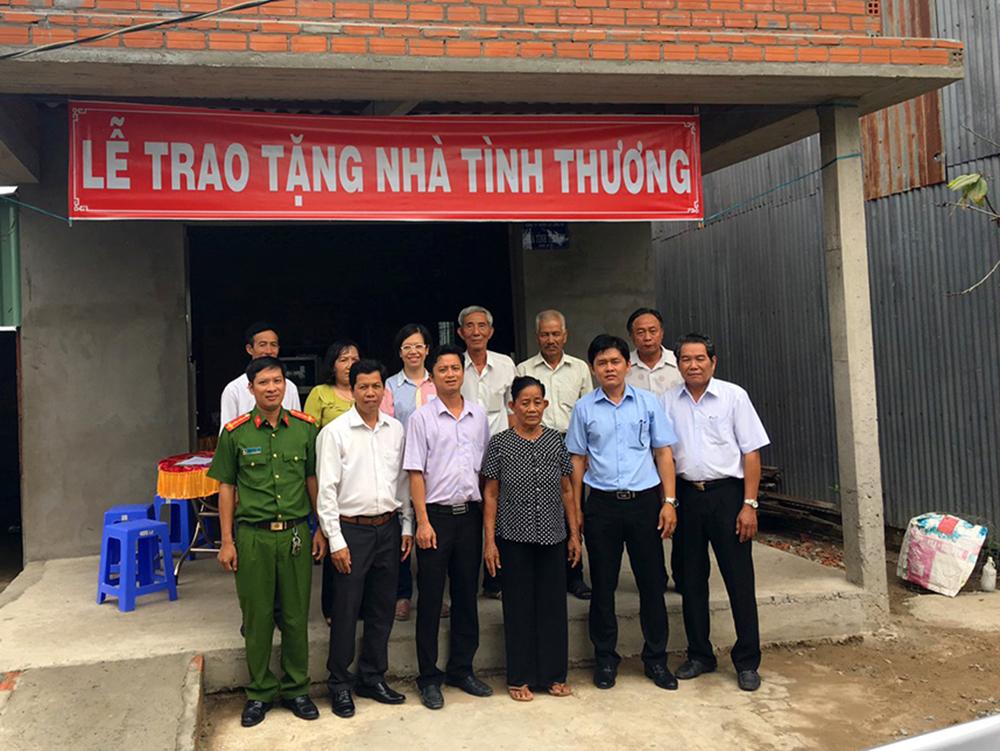 New Toyo (Việt Nam) trao tặng nhà tình thương, nhà tình nghĩa cho hộ nghèo và gia đình chính sách