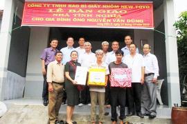 Trao nhà tình thương cho hộ nghèo ở An Giang