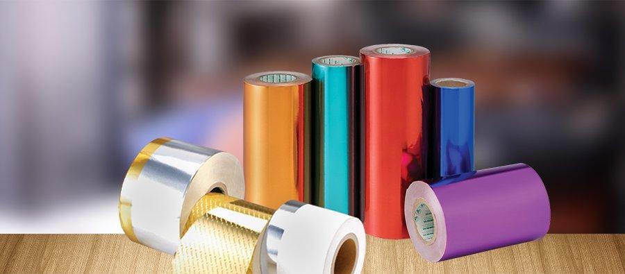 アルミニウム紙製品/MPET紙