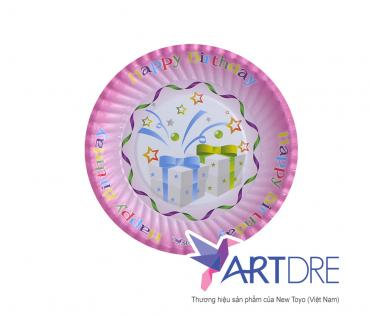 Round shape paper plate 16cm - 1