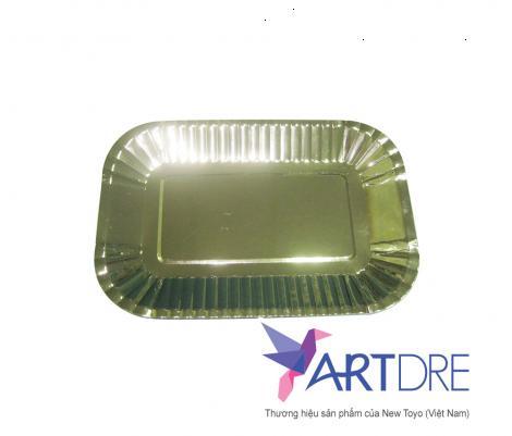 Đĩa giấy HCN 24 x 16 cm