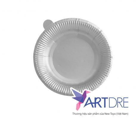 Đĩa giấy tròn 10cm - mpet