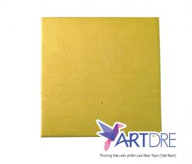 Khay vuông Vàng 18x18cm