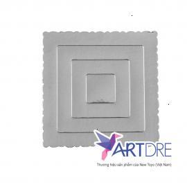 正方形の用紙トレイ - Mpet - 20x20cm