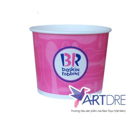 Tô giấy 2PE 9oz - h58 Baskin Robbins