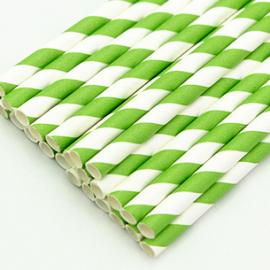 Disposable paper straw 8mm