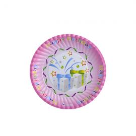 Round shape paper plate 16cm - 1