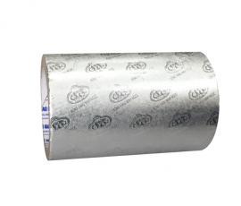 Giấy nhôm bạc cán vân logo Rồng Vàng Minh Ngọc