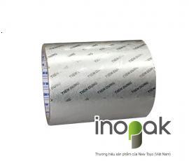 Giấy nhôm bạc cán vân logo Tiên Dung