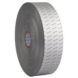 シルバーアルミ箔紙 - ブラックデビルロゴプリント