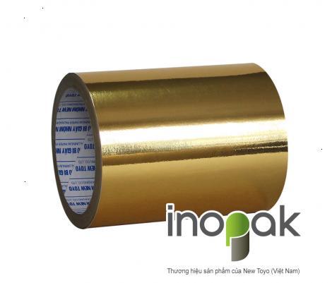 Giấy duplex ghép MPET vàng